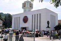 Maglaj / Svetište sv. Leopolda Mandića
