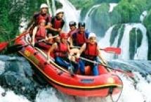 Rafting na Uni